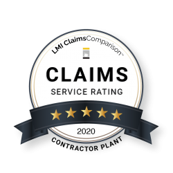 LMI Claims Comparison - 5 Star Claims Service Rating Medal